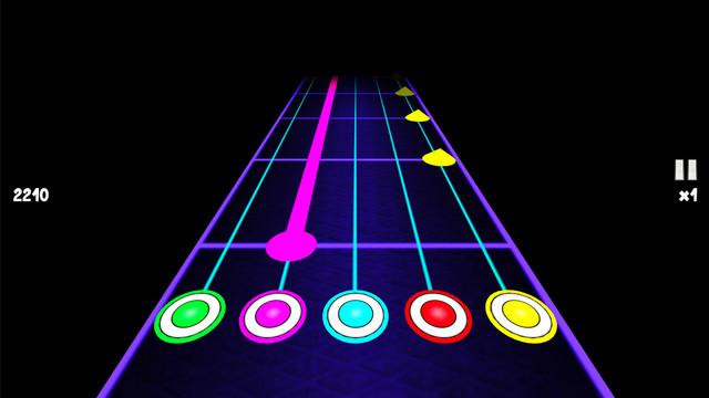 吉他梦ios手机版类似节奏大师v3.4截图3