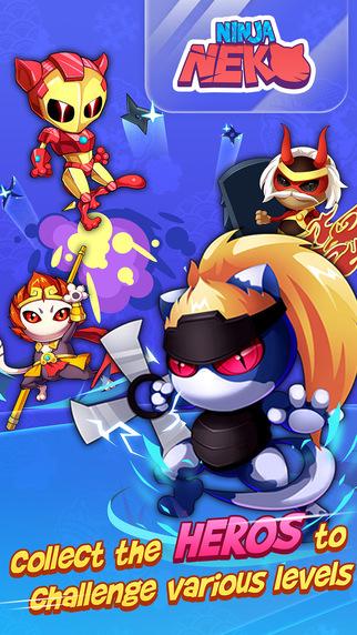 忍者猫IOS版v1.0截图1