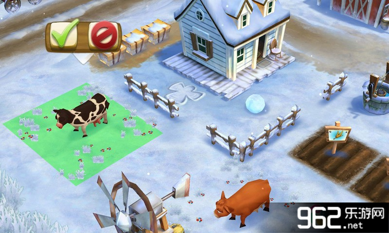 开心农场2:乡村度假钥匙无限修改版(冬季圣诞节版)v6.1.1148截图2