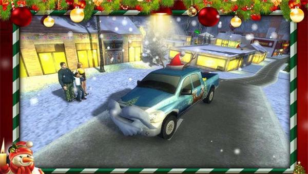 圣诞老人的越野卡车破解版模拟驾驶v1.3_截图