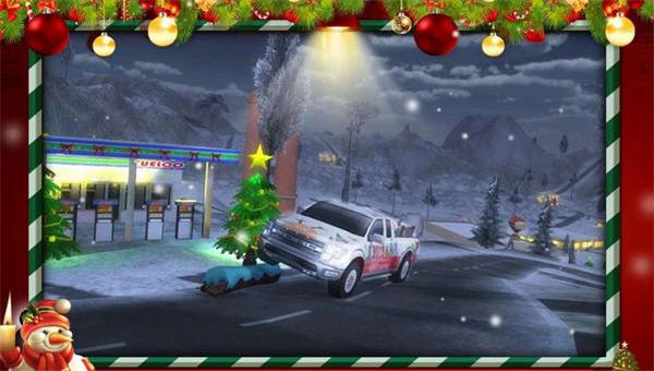 圣诞老人的越野卡车破解版模拟驾驶v1.3_截图3