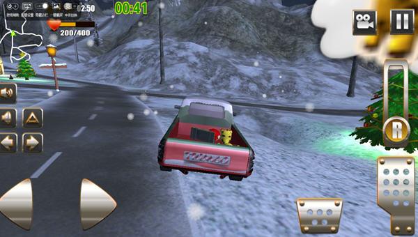 圣诞老人的越野卡车破解版模拟驾驶v1.3_截图0