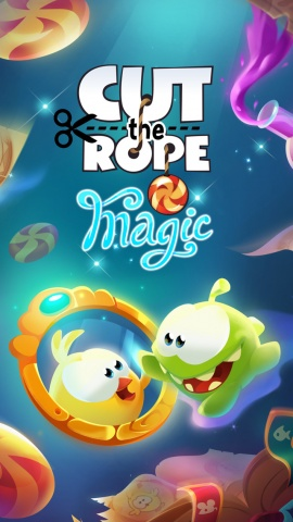 割绳子:魔术 Cut the Rope: Magic IOS版v1.0.0截图0