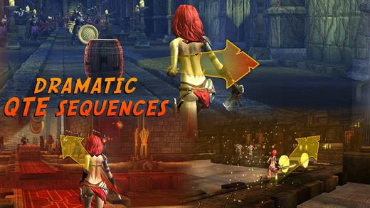 少女的剑与魔法(Swords & Some Magic)ios官方版(跑酷战斗)v1.0截图2