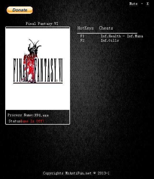 最终幻想6修改器+3