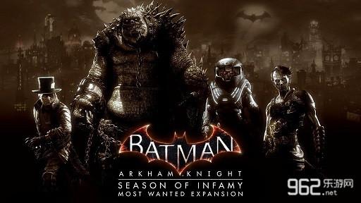 《蝙蝠侠:阿卡姆骑士》最高通缉DLC宣传片放出