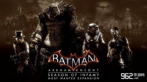 《蝙蝠侠:阿卡姆骑士》最高通缉DLC发售宣传片