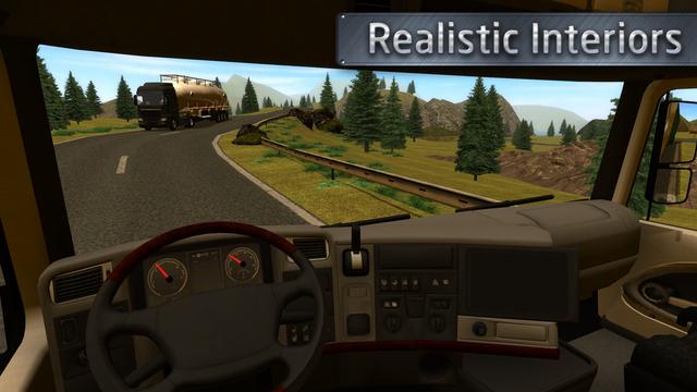 欧洲卡车司机ios汉化版v1.0.2_截图2