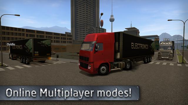 欧洲卡车司机ios汉化版v1.0.2_截图4