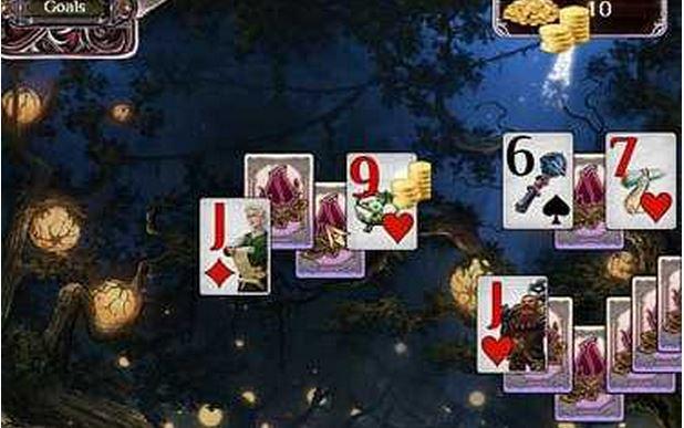 遥远的王国:神圣森林纸牌
