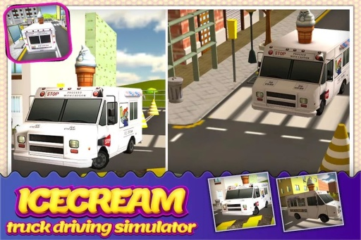 模拟冰淇淋卡车3D安卓中文版_截图2