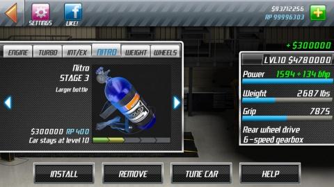 短程高速赛车 Drag Racing Classic IOS版v1.6.38截图4