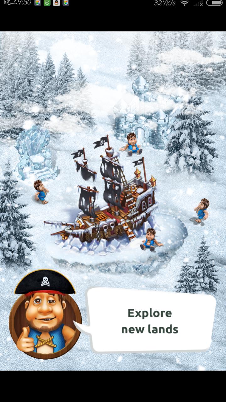 部落 The Tribez 金币宝石无限版(冬季圣诞新版)v5.0_截图0