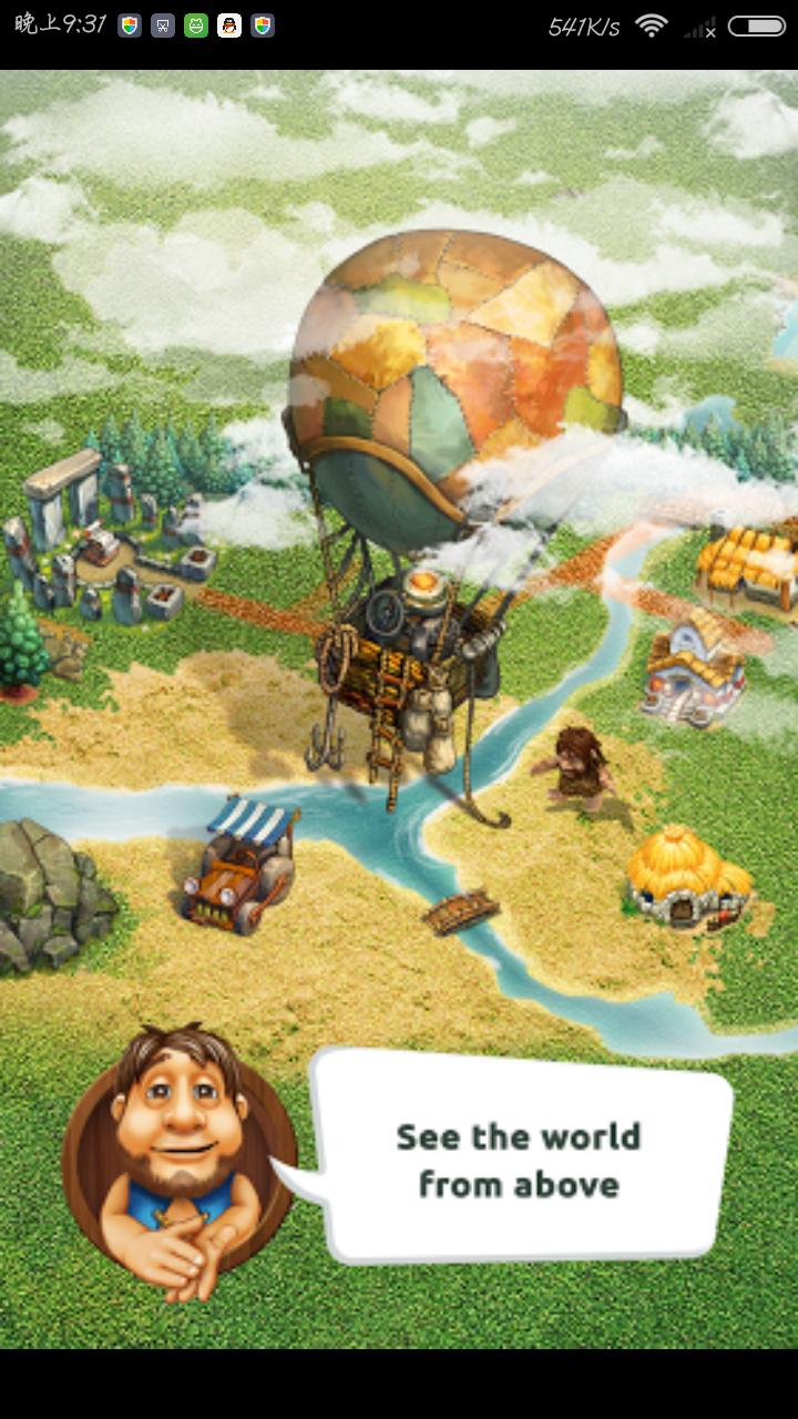 部落 The Tribez 金币宝石无限版(冬季圣诞新版)v5.0_截图1