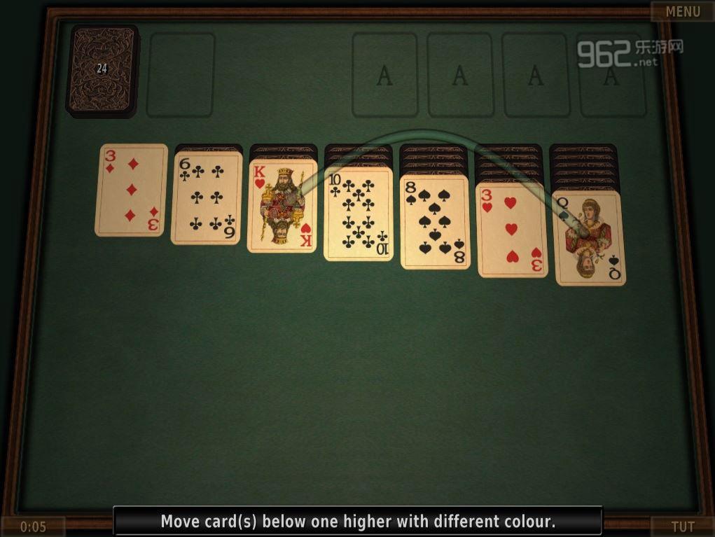 纸牌游戏3D版英文版截图2