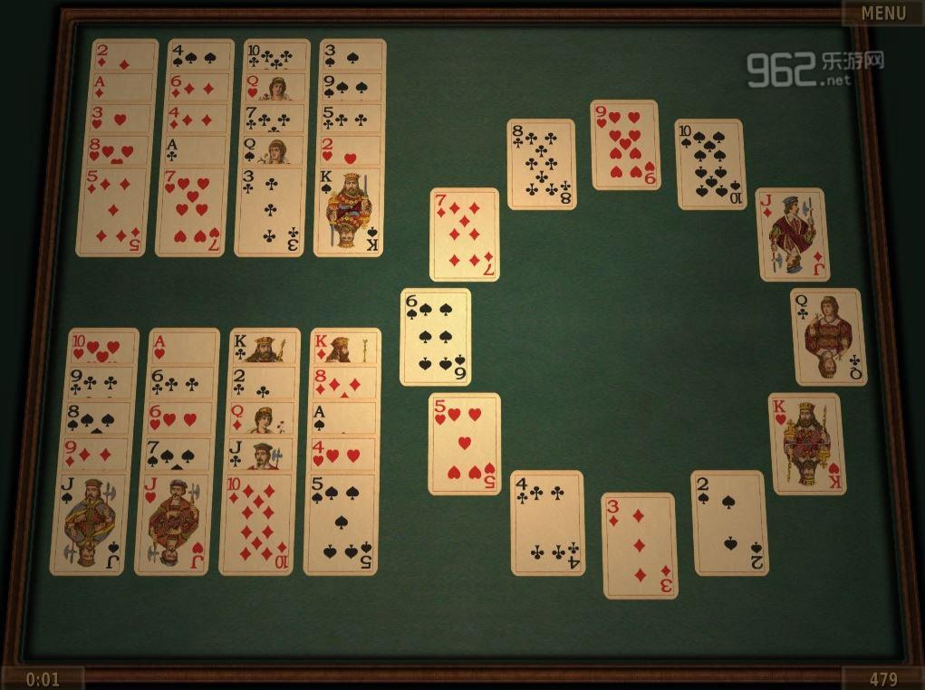 纸牌游戏3D版英文版截图4