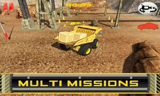 翻斗卡车停车手游模拟驾驶v1.02_截图3