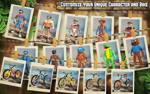 山地自行车极限3D破解版(含数据包)极限挑战v1.2.1_截图3
