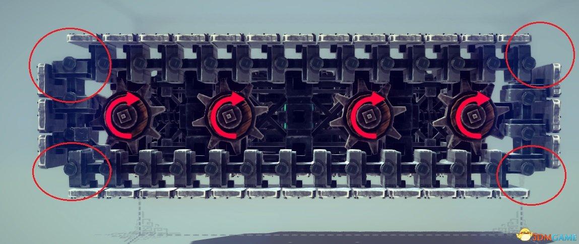 坦克履带制作_贴图金属坦克制作图例履带类、火车及其它特