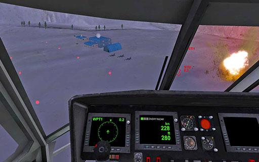 直升机模拟 专业版v1.1_截图0
