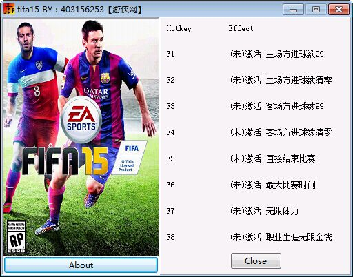 FIFA 15存档修改器+8