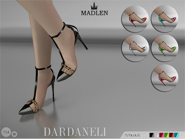 模拟人生4女性细跟气质高跟鞋