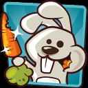 饥饿的兔子 吃个萝卜不容易 安卓趣味休闲游戏