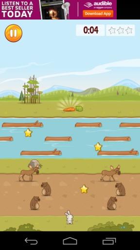 饥饿的兔子 吃个萝卜不容易 安卓趣味休闲游戏v1.3截图3