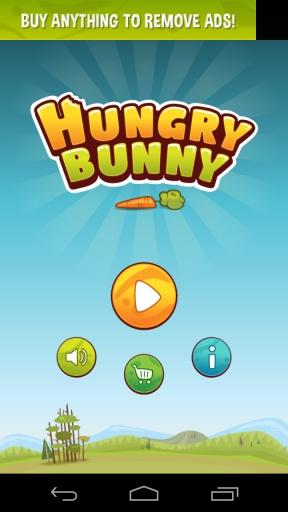 饥饿的兔子 吃个萝卜不容易 安卓趣味休闲游戏v1.3截图0