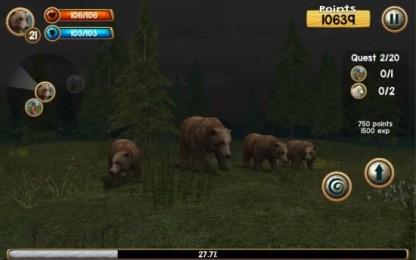 野熊模拟3D 挑战野外生存v2.0截图1