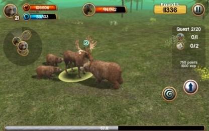 野熊模拟3D 挑战野外生存v2.0截图2