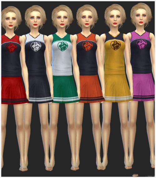 模拟人生4解锁官方啦啦队的衣服MOD