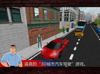 城市驾驶3D 中文版v1.0安卓版_截图0