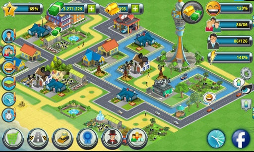 如果你喜欢城市岛屿以及早期的模拟城市大亨游戏,你绝对会爱上这款全新的城市建造者游戏!下载游戏一起来玩吧 - 这是免费的游戏! 在城市岛屿2中,你将会为你的居民建造房子、进行装饰,并为他们建造社区建筑以让他们快乐。你还要创建工作,以便能够从你快乐的居民身上赚取现金和金币。你自己城市里的人们将会为你提供挑战与反馈,让你知道自己做得好不好!