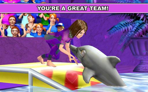 7.2   《我的海豚表演》游戏截图