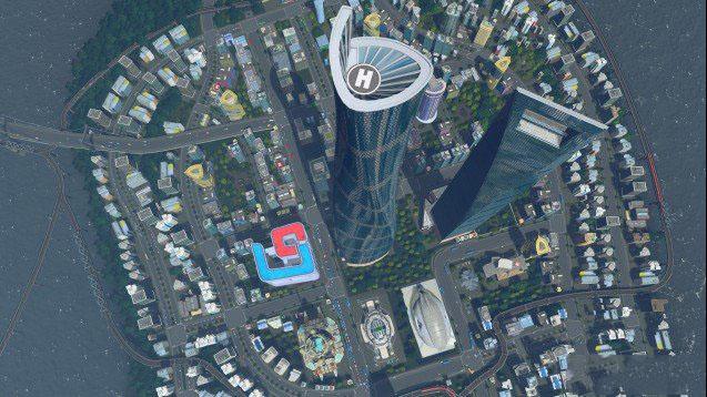 城市:天际线上海中心大厦mod