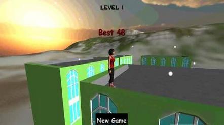逃脱跑酷3D安卓版1.0截图0