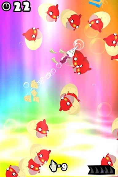 小章鱼大战食人鱼是一款卡通画风休闲