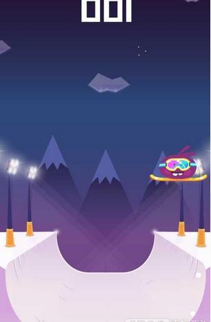 旋转滑雪安卓版1.0.0截图1
