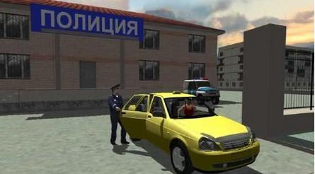 俄罗斯出租车3D模拟安卓版1.0.5_截图0