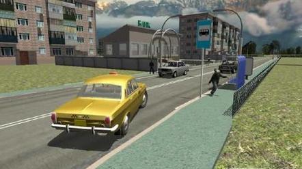 俄罗斯出租车3D模拟安卓版1.0.5_截图3