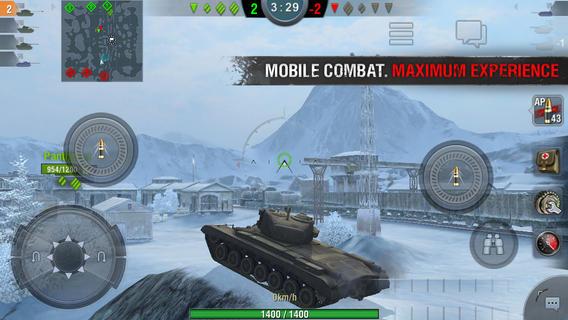 坦克世界闪电战1.8(带数据包)V1.8安卓版截图0
