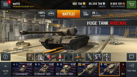 坦克世界闪电战1.8(带数据包)V1.8安卓版截图1