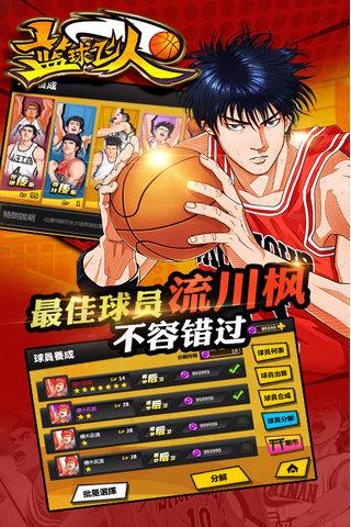 篮球飞人 灌篮高手手游v1.2安卓版截图1