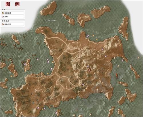 巫师3全要素收集地图一览