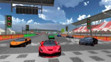 赛车竞速模拟2015安卓版1.0_截图0