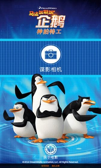 马达加斯加的企鹅图解