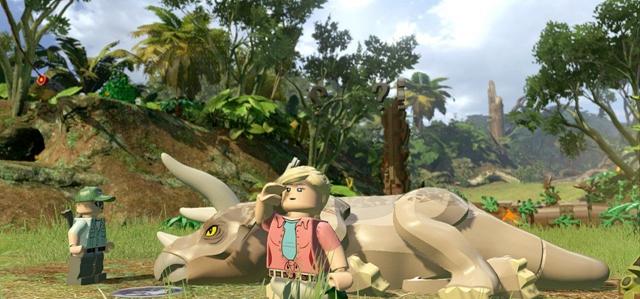 乐高侏罗纪世界汉化破解版截图2