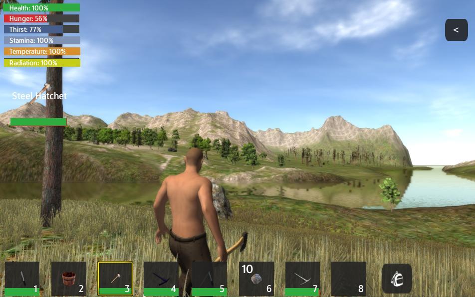 无人岛:生存安卓版v2.0_截图