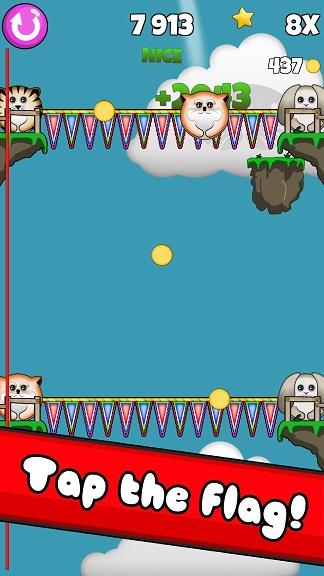 喵星人降落伞安卓版v1.0.1截图4